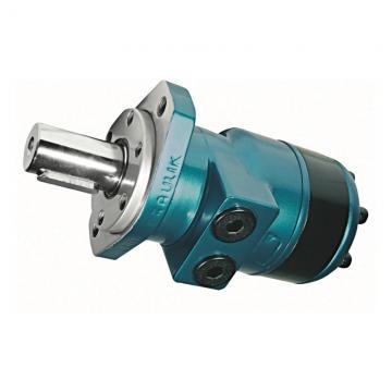 Idraulico Motore 333 Cc / Rev 4-hole, 50mm Parallele con Chiave Albero
