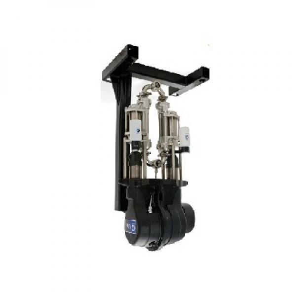 Pompa travaso A PISTONE per fusti OLIO 60LT/MIN 208 CASTROL - PER OLIO E GASOLIO #1 image