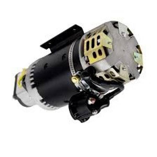 Hydraulic 8 GPM Two Stage Hi-Low Gear Pump C/W Bell Housing Engine Kit GX120/GX1 #1 image